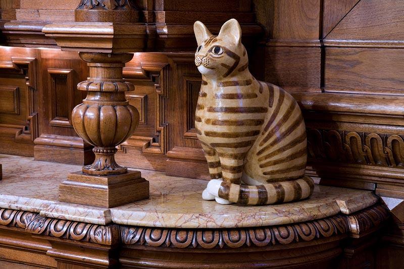 Галерея «Файн Арт», полностью посвящённая кошкам: Амстердам, Голландия